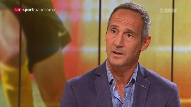 Video «Studiogäste Wicky und Hütter: 4. Gesprächsteil» abspielen