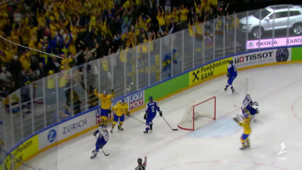 Schweden mit Mühe gegen die Slowakei