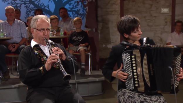 Video «Archivperle: Kapelle Claudia & Hans Muff» abspielen