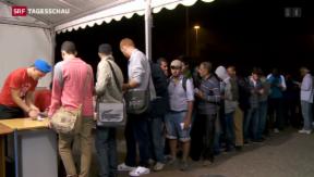 Video «Italien und EU streiten über Flüchtlings-Situation» abspielen