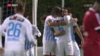 Video «Der FCZ setzt sich im Cup durch» abspielen