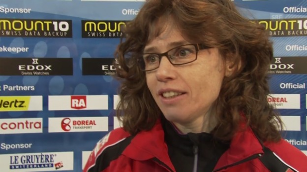 Video «Curling, EM: Interview mit Mirjam Ott» abspielen