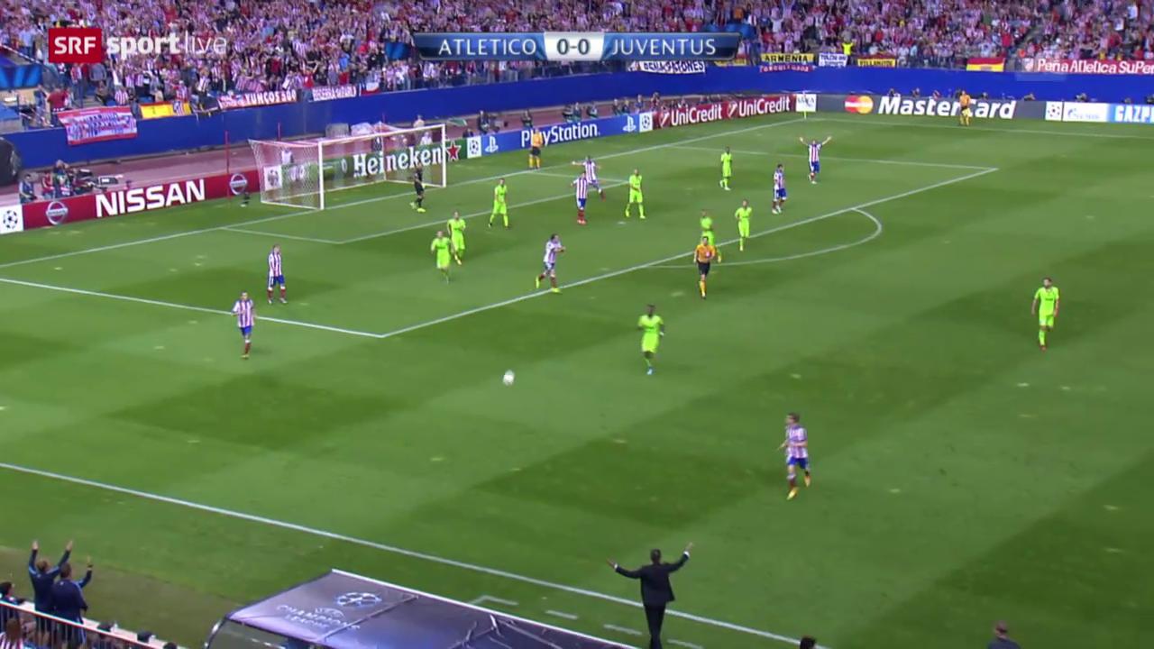Fussball: CL, Atletico - Juventus