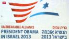 Video «Obama-Besuch in Israel: Reise des guten Willens» abspielen