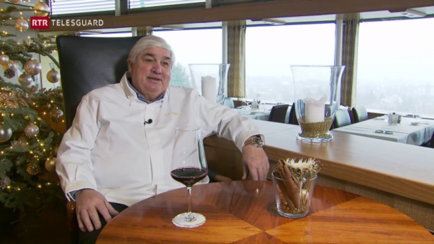 Laschar ir video «Il cuschinier Jacky Donatz vegn 65. En pensiun na va el dentant betg.»