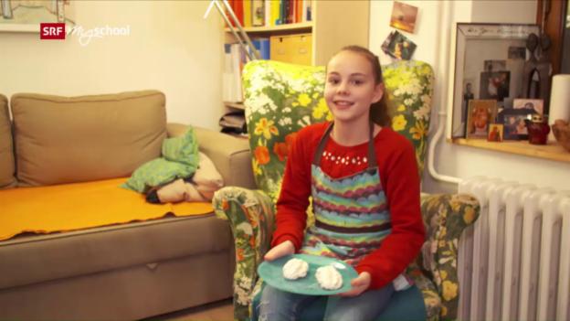 Video «4 Sprachen zum Dessert: Les meringues de Gaia» abspielen