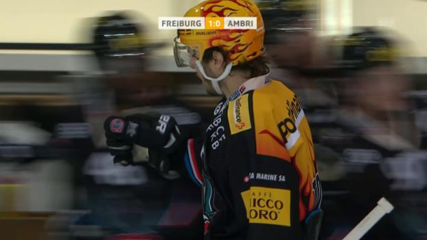 Video «Freiburg lässt Ambri alt aussehen» abspielen