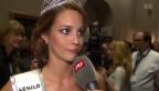 Video «Miss Schweiz Laetitia Guarino im «g&g»-Entscheidungs-Test» abspielen