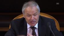 Video «Ständerat Bieri ist nicht glücklich mit der Lösung» abspielen