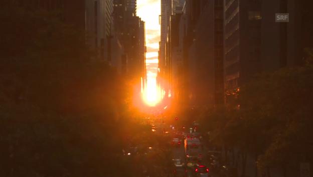 Video ««Manhattanhenge»» abspielen
