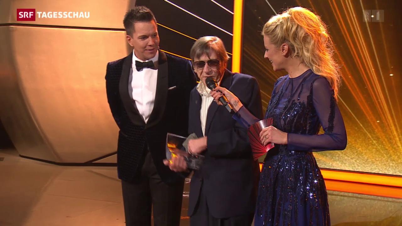 Polo Hofer ist Schweizer des Jahres