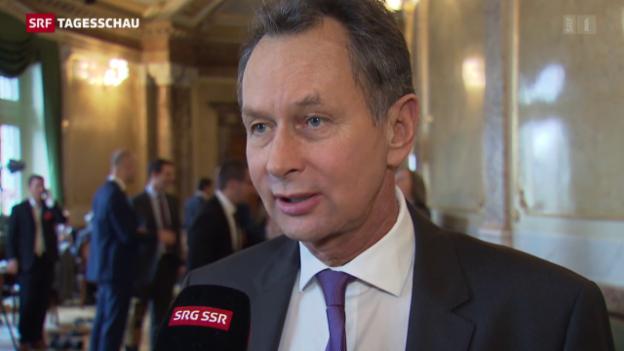 Video «Reaktionen von FDP und CVP auf die Wahl» abspielen