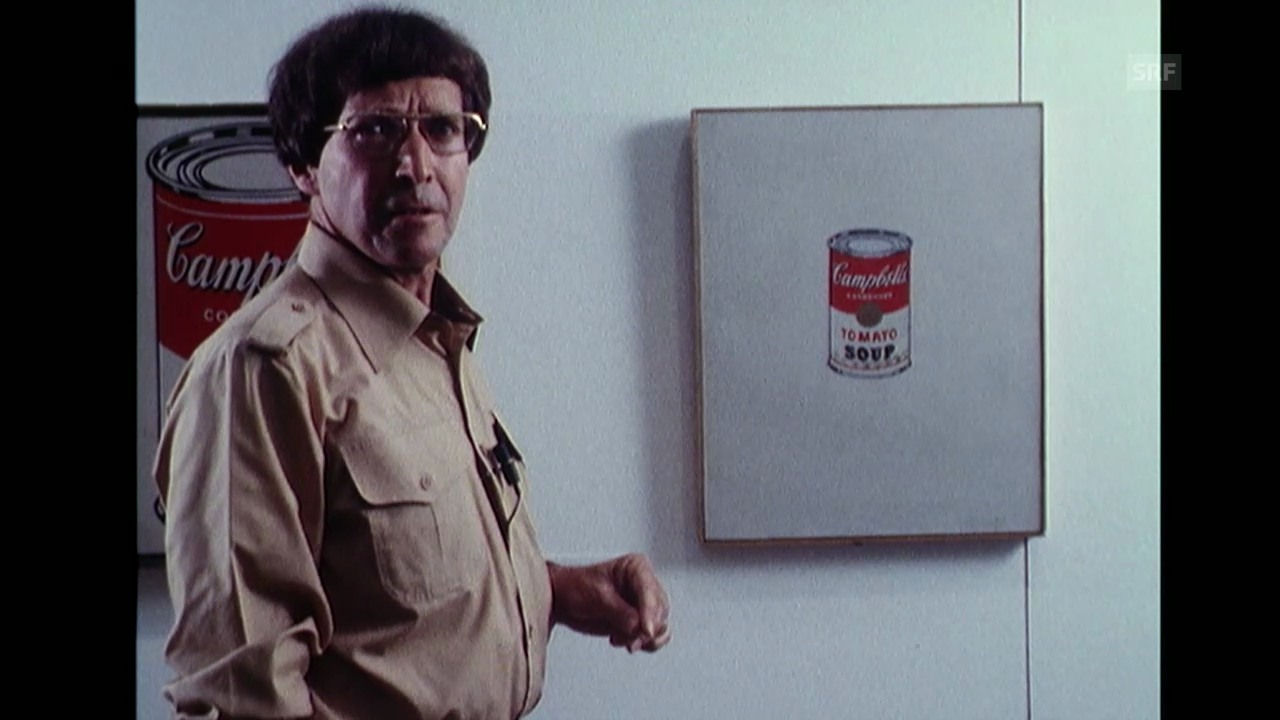 Kunsthistoriker erklärt Warhol (Monatsmagazin, 20.6.1978)