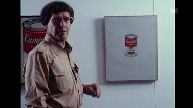 Video «Kunsthistoriker erklärt Warhol (Monatsmagazin, 20.6.1978)» abspielen