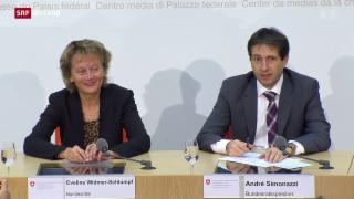 Video «Widmer-Schlumpf und die Journalisten» abspielen
