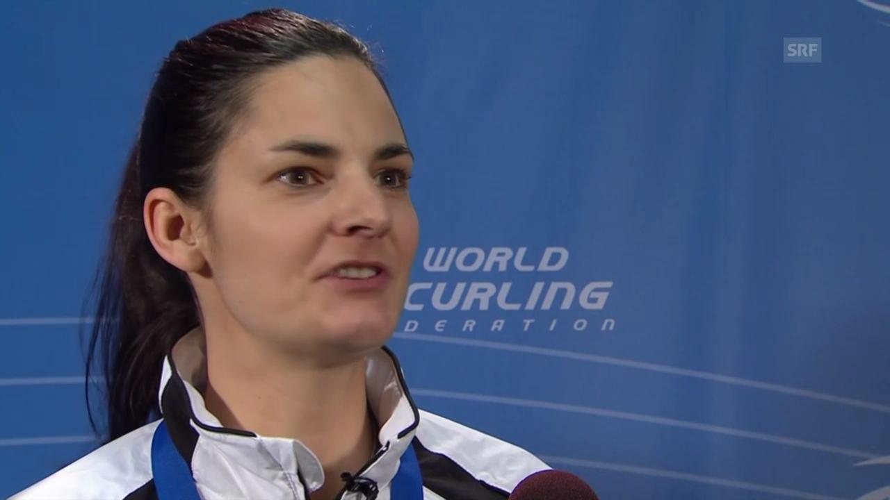 Curling: Interview mit Binia Feltscher