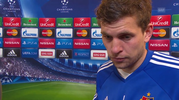 Video «Fussball: Champions League, Porto-Basel, Interview mit Fabian Frei» abspielen