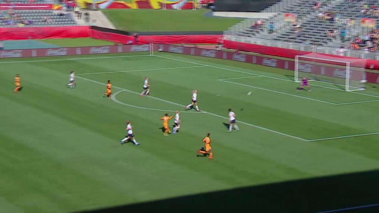 Fussball: Frauen-WM, Elfenbeinküste - Norwegen, das Traumtor von Ange Nguessan