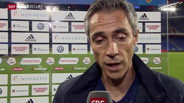 Video «Fussball: Stimmen zum Spiel Basel - St. Gallen» abspielen