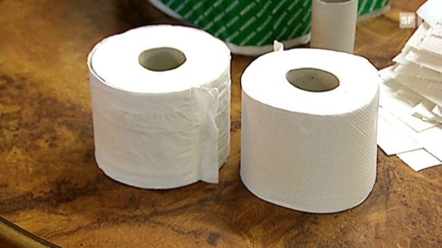 WC-Papier wurde kürzer und teurer