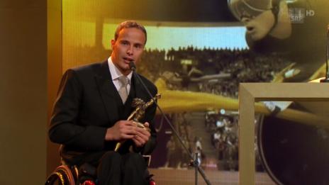 Video «Sports Awards: Marcel Hug «Behindertensportler des Jahres»» abspielen