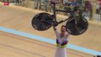 Video «Rad: Bahn-EM, Final Einzelverfolgung» abspielen
