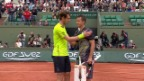 Video «Tennis: French Open in Paris, Murray und Djokovic weiter» abspielen