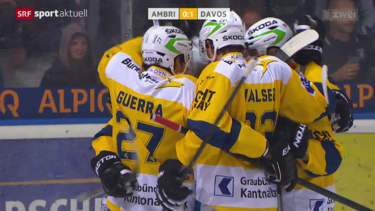 Eishockey: Ambri-Davos