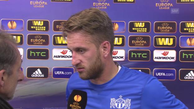 Video «Fussball: Europa League, Limassol-FCZ, Interview Da Costa» abspielen
