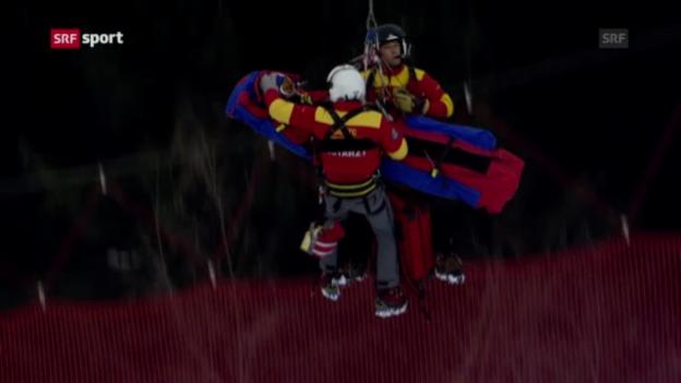 Video «Ski: Vonn im Spital («sportaktuell»)» abspielen