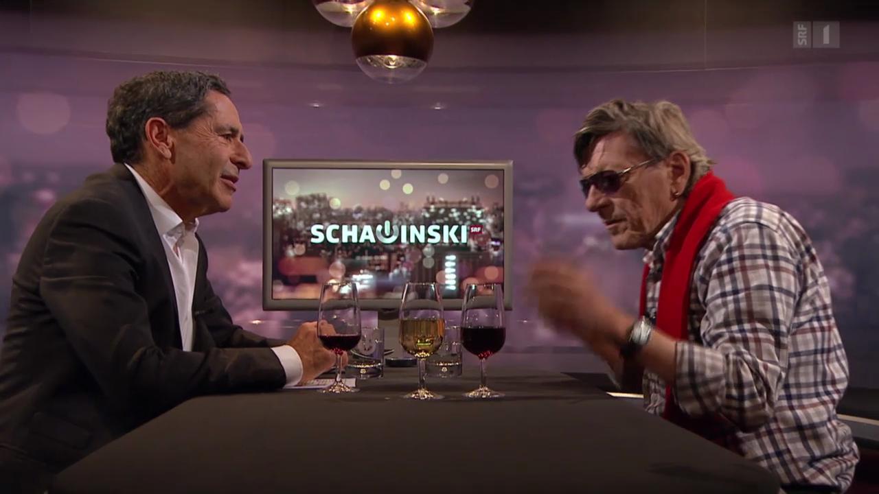 Roger Schawinski im Gespräch mit Polo Hofer