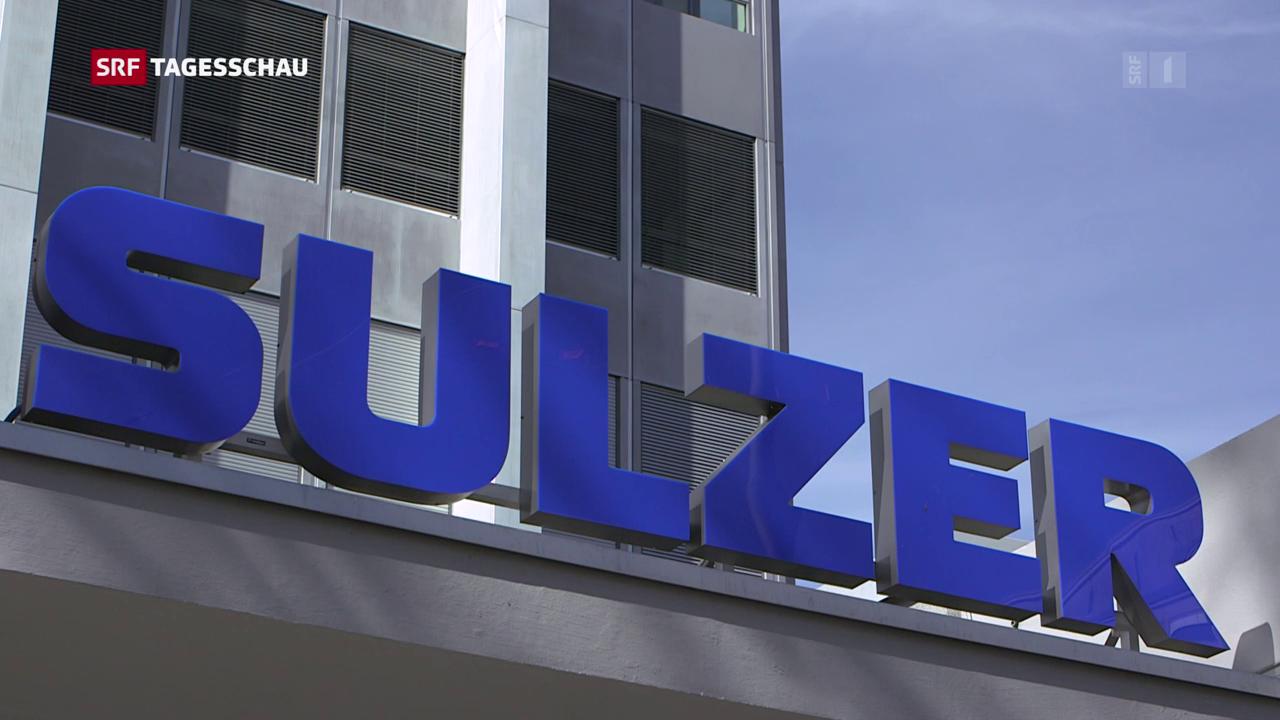 Sulzer schützt sich mit Aktienrückkauf gegen US-Sanktionen