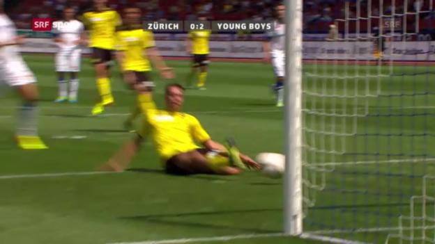 Video «Zusammenfassung FCZ - YB («sportpanorama»)» abspielen