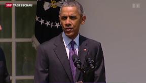 Video «Historische Annäherung zwischen Kuba und den USA» abspielen