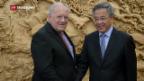 Video «Wirtschaftsminister in China» abspielen