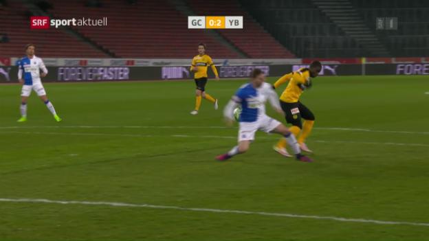 Video «Assalés zweiter Treffer gegen GC» abspielen