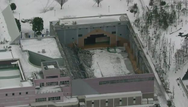 Video «Japan versinkt erneut im Schnee (unkommentiert)» abspielen