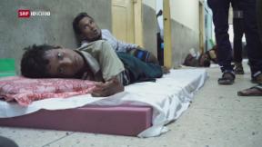 Video «Was geschieht mit den fliehenden Rohingya-Kindern?» abspielen