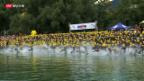 Video «Ironman wird zur Hitzeschlacht» abspielen