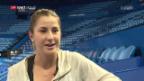Video «Belinda Bencic vor dem Final am Hopman Cup» abspielen