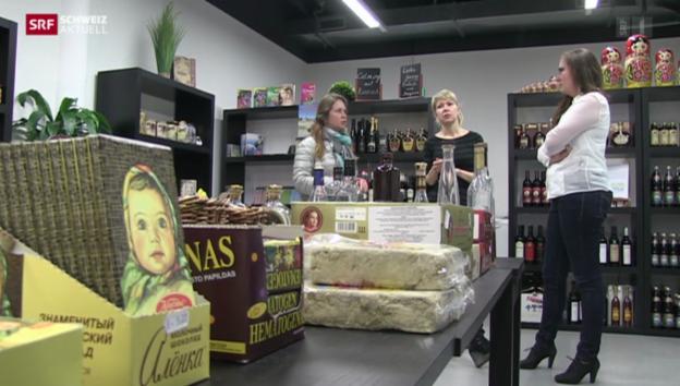 Video ««Gespaltene» Russen in der Schweiz» abspielen
