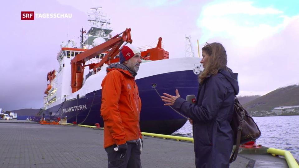 Arktis-Klima-Expedition mit dem Forschungsschiff «Polarstern»