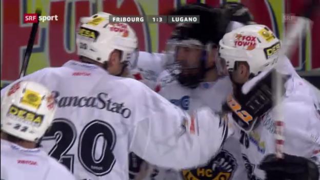 Video «Fribourg - Lugano («sportaktuell»)» abspielen