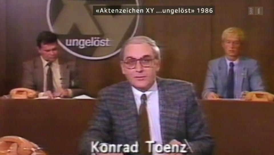 Konrad Toenz in der Nostalgie-Serie von g&g (2014)