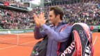 Video «Tennis: Federer - Benneteau» abspielen