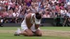 Video «Garbine Muguruza rauscht zum Wimbledon-Triumph» abspielen