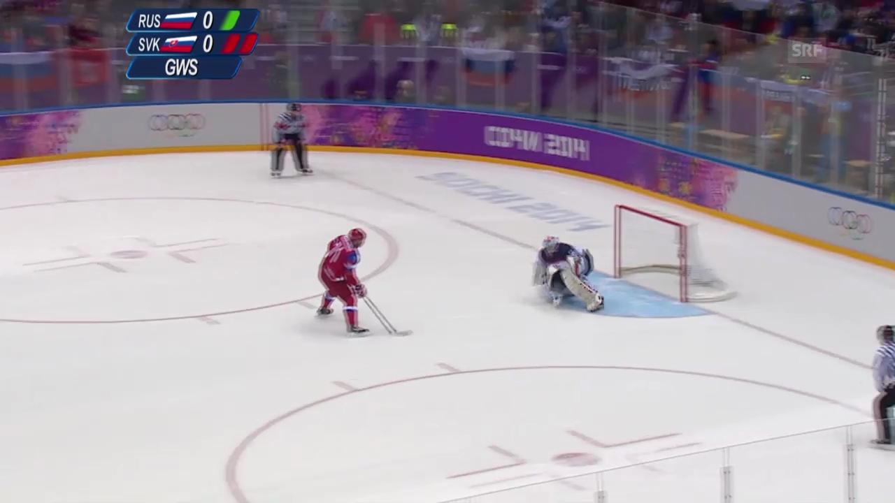 Eishockey: Zusammenfassung Russland - Slowakei (16.02.2014)