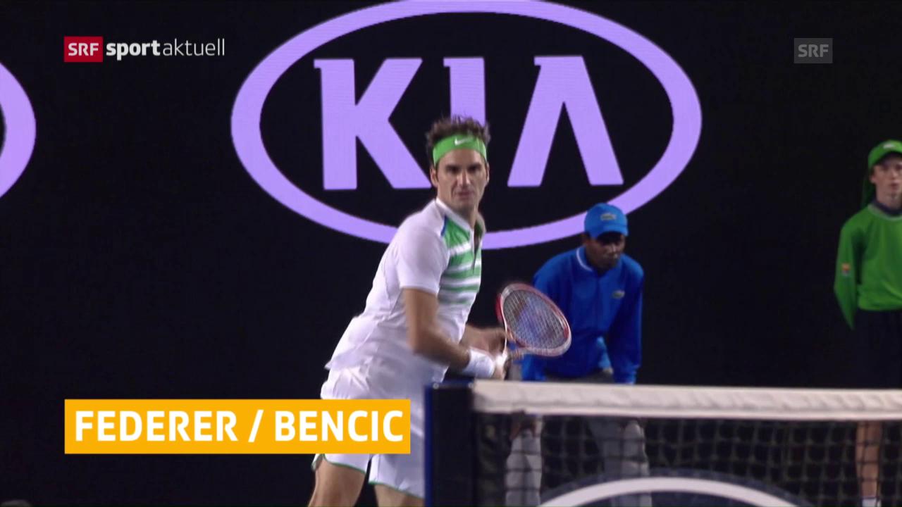 Federer und Bencic spielen 2017 in Perth