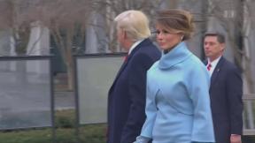 Video «Übergangene Melania Trump» abspielen