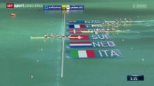 Video «Rudern: WM in Aiguebelette» abspielen